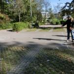Ringewerfen auf dem Ödeparkplatz