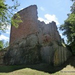 Burgturm von Aussen