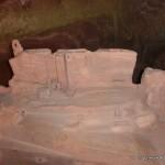 Darstellung der Burg Fleckenstein wie sie heute ist