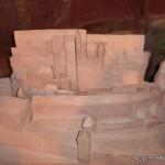 Darstellung der Burg Fleckenstein zur Blütezeit
