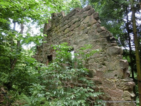 Mauerreste von Chateau de Windstein