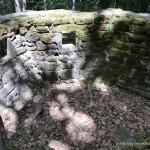 Ruinen ausserhalb der Burg
