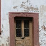 Tür mit Zeichen der Bäckerguilde