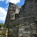 Verfallene Burgmauern