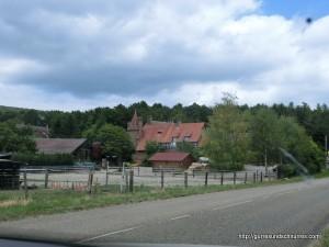 Viele alte Häuser